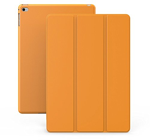 Khomo iPad Mini 4 Hülle Case Orangenes Gehäuse mit doppelten Schutz ultra dünn und leicht, Smart Cover  - Dual Orange