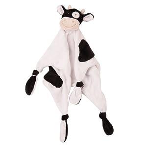 JoJo Maman Bébé B3459 - Mantita de arrullo, diseño de vaca