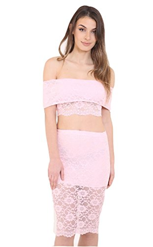 7 Fashion Road - Tailleur-jupe - Femme Nude