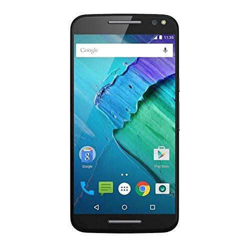 Motorola Moto X Style 4G Negro - Smartphone (SIM única, Negro, Android, NanoSIM, EDGE, GSM, CDMA, EVDO, WCDMA, HSPA+, UMTS) [Importado de Francia]
