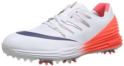 Nike Lunar Control 4, Chaussures de Golf Femme, Gris-Grau (Pure Platinum/Midnight Navy/Bright...