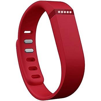 Fitbit Flex Braccialetto Monitoraggio Sonno e Attività Fisica, Rosso