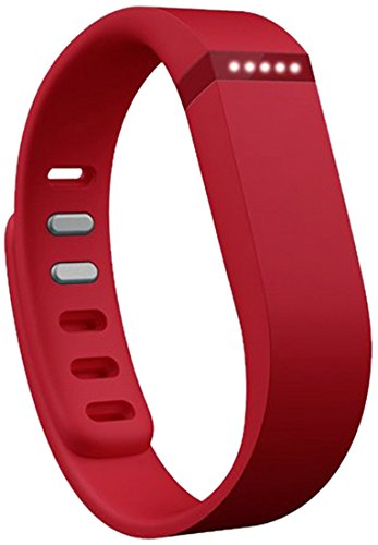 Fitbit Flex Wireless Activity Tracker and Sleep Wristband – Red
