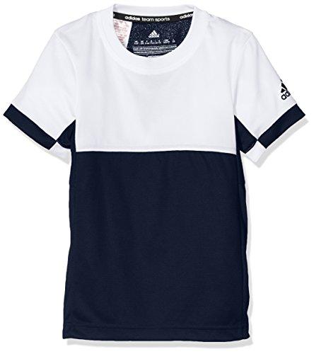 adidas Jungen Oberbekleidung T16 Climacool Tee YB, dunkelblau, 128, AJ8785 -