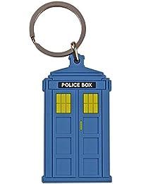 "Vintage Police Box ""Doctor Who Style"" Tardis Keyring"