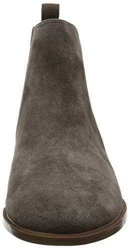 Gris Taylor Chelsea Shine Femme Clarks Bottes Taupe Suede dvqAwFxX