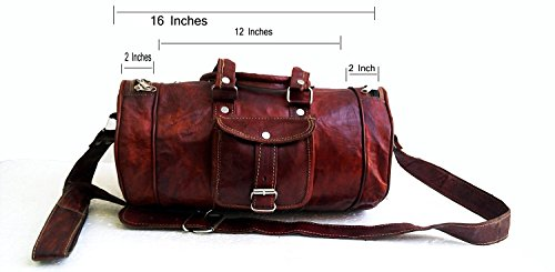 "Messenger of Leather , Borsa Messenger  marrone Brown 28"" x 13"" x 14"" Brown"