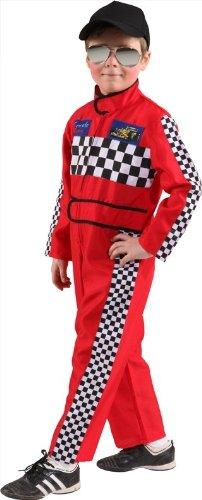 Rennfahrer Overall, (Anzug Rennfahrer Kostüm)