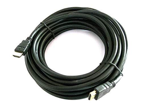 HDMI-Kabel Reekin – 10 Meter – High Speed mit Ethernet – doppelte Abschirmung – Vergoldete Stecker