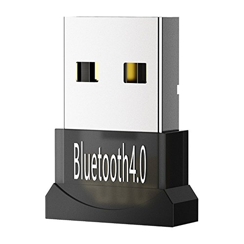 Foto de Mpow Bluetooth 4.0 USB, Bluetooth USB Dongle Adaptador para PC, Ordenador de Sobremesa con Windows 10, 8.1, 8, 7, Vista, XP 32/64 bit, Compatible con el Teclado, el Ratón, los Auriculares, el Altavoz, el Teléfono Inteligente, Impresora