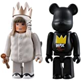 Where the Wild Things Are Kubricks 2 pack - Max and Medicom Bear by Medicom Toy