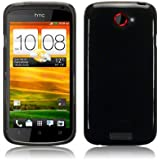 HTC One S TPU Gel Skin Case / Cover - Smoke Black Part Of The Qubits Accessories Range