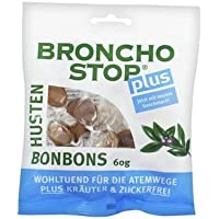 Bronchostop Plus Husten-Bonbons 60g (60 G) preisvergleich bei billige-tabletten.eu