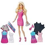 Barbie - X7892 - Poupée - Atelier Couleurs et Styles