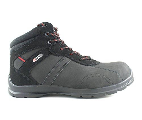 4walk Brown - De Chaussures De Sécurité - Taille 41 - Noir 3p9tIAwC9