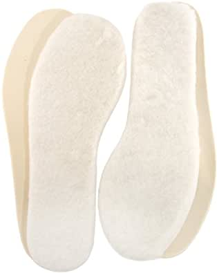 2 PAIRS OF LAMBLAND GENUINE LAMBSWOOL INSOLES (SIZE 4)