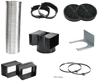 Siemens lz55850Hotte Accessoire/32cm/Kit de démarrage pour chaleur tournante d'Exploitation