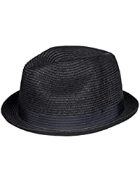 Quiksilver Falseto - Straw Trilby - Casquette/chapeau - Homme - Noir