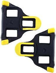 Forfar Cinturones de bicicleta de carretera Flotador de 6 grados Pedal de Ciclismo Ajuste la mayoría de los zapatos de ciclismo de carretera