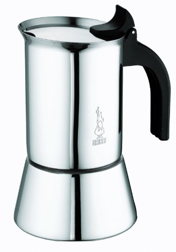 Bialetti 1685 - Venus Induction - Cafetière Italienne en Inox - 10 Tasses