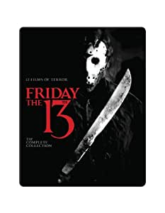 Friday the 13th: Complete Collection [Blu-ray] [Region Free] [US Import]