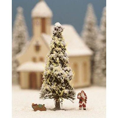 Noch 11912 - Albero di Natale innevato e Illuminato