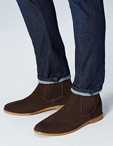FIND Built Sole Herren Chelsea Boots Braun (Brown)