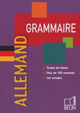 Grammaire Allemand