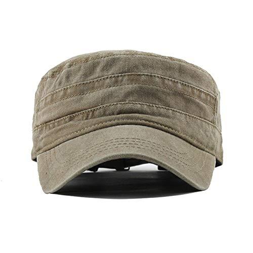 VISER Cappellino militare classico moderno misto cotone estivo Cappellino elegante classico camionista Cap pittori retrò Cappello violinista cappello regolabile berretto da baseball militare Esercito