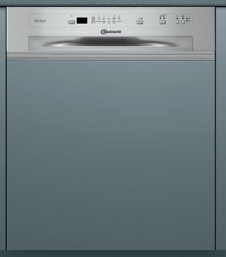 Bauknecht GSI 61203 Di A+ IO integrierbarer Einbau-Geschirrspüler / A+ A / 13 Maßgedecke / 11.5 Liter / 46 db / 30 Min. Expressprogram / Sensor+ / Wasserstopp-System / Edelstahloptik / 59.7 cm