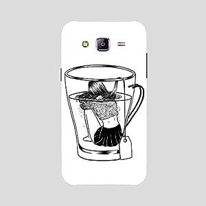 Back cover for Samsung Galaxy J5 Tea Dip