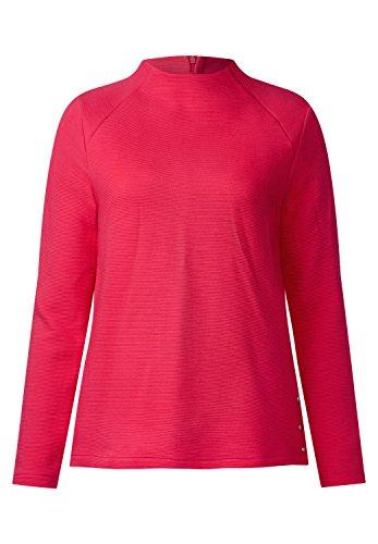 Street One Damen Strukturshirt mit Turtleneck colada pink (pink)