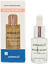 Ambientair HD015ECAA - Aceite hidrosoluble, aroma musgo blanco, 15 ml
