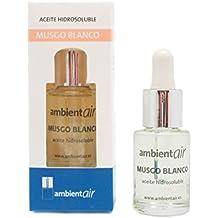 Ambientair HD015ECAA - Aceite hidrosoluble, aroma musgo blanco, 15 ml