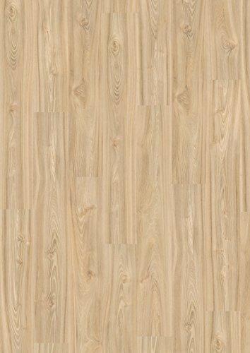 EGGER Home Comfort - Design Korkboden hell braun in Holzoptik, Ashton Rüster EHC006 (8mm, 1,995m²/Pkt.) Designboden Kork Laminat mit Trittschalldämmung - warm & leise