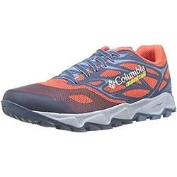 """Columbia Trans Alpsâ""""¢ F.k.t.â""""¢ II, Zapatillas de Trail Running para Hombre, Rojo (Red Quartz, Acid Yellow), 44 EU"""