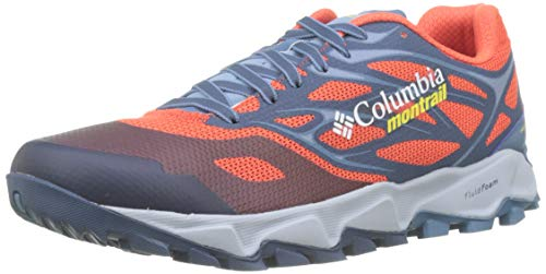 Columbia Trans Alps F.K.T. II, Scarpe da Trail Running Uomo, Rosso (Red Quartz/Acid Yellow 813), 42.5 EU