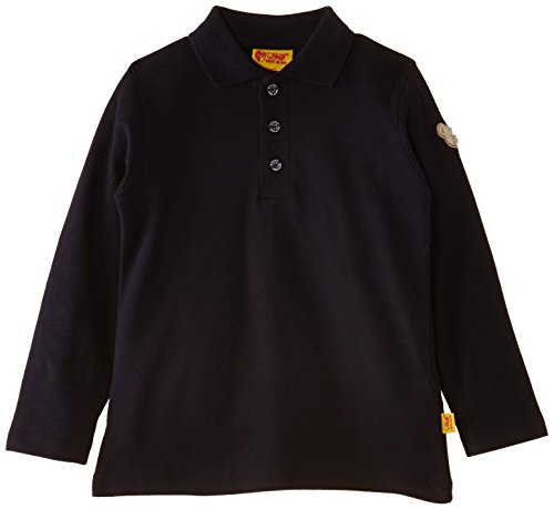 Steiff Unisex Baby Poloshirt 6864 Blau (Marine 3032)