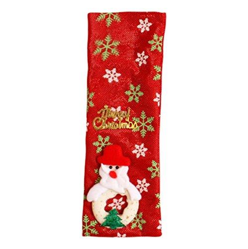 Weihnachtswein Taschen,Moonuy Neue Rotweinflasche Abdeckung Taschen Dekoration Home Party Weihnachtsmann Weihnachten Tuch Dekoration Lieferungen (Dekorationen Und Party Lieferungen)
