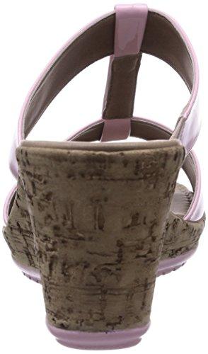 356aefbf8fbd70 ... Tamaris 27207 Damen T-Spangen Sandalen mit Keilabsatz Pink (Rose 521)  ...