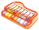 AZ Trading And Import 2 In 1 Xylophone/Piano with Music Sheet Songbook