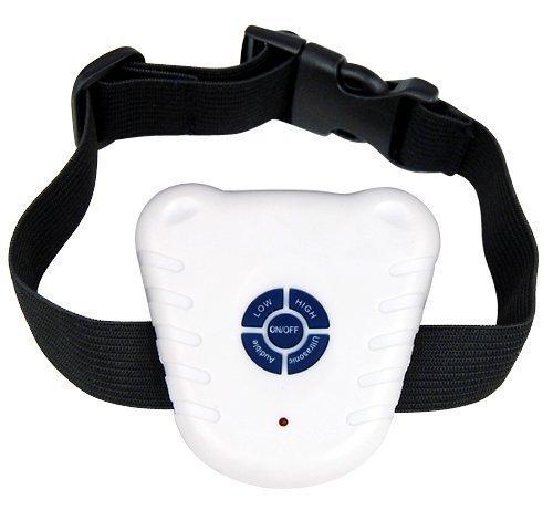 HUKITECH Ultraschall Anti-Bell Halsband für Hunde - Antibell Hundehalsband Erziehungshalsband Antibellhalsband Trainingshalsband gegen Bellen