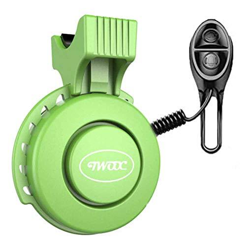 CHIYEEE Fahrradklingel USB Wiederaufladbar Wasserdichte Elektro-Fahrrad Bell Elektronisches Lenker Bell Ring für Mountainbike
