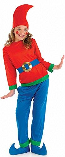Zwerg - Blau - Kinder- Kostüm