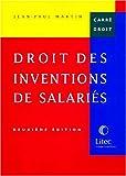 Droit des inventions de salariés (ancienne édition)