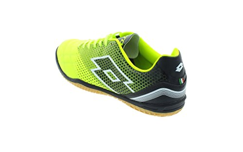 Lotto Spider 700 Xiii Id, Chaussures de Foot Homme Multicolore - Amarillo / Negro (Ylw Saf / Blk)