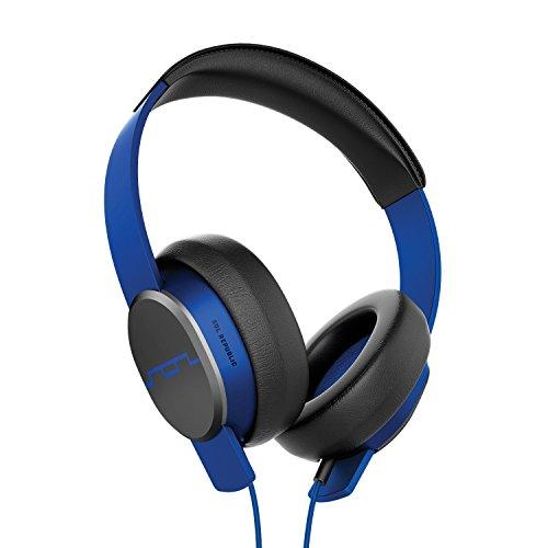 SOL Republic Master Tracks OverEar-Kopfhörer mit X3 Sound-Engine (tauschbares Headband) Blau (Sound-engines)