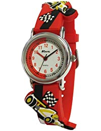 Ravel Children's 3D Racing Car Easy Read Watch