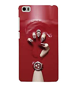 FUSON Girl Hand With Watch 3D Hard Polycarbonate Designer Back Case Cover for Xiaomi Mi 5 :: Redmi Mi5