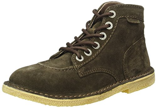 KickersOrilegend - Stivali classici alla caviglia Donna , marrone (Marrone (Marron Foncé)), 38 EU